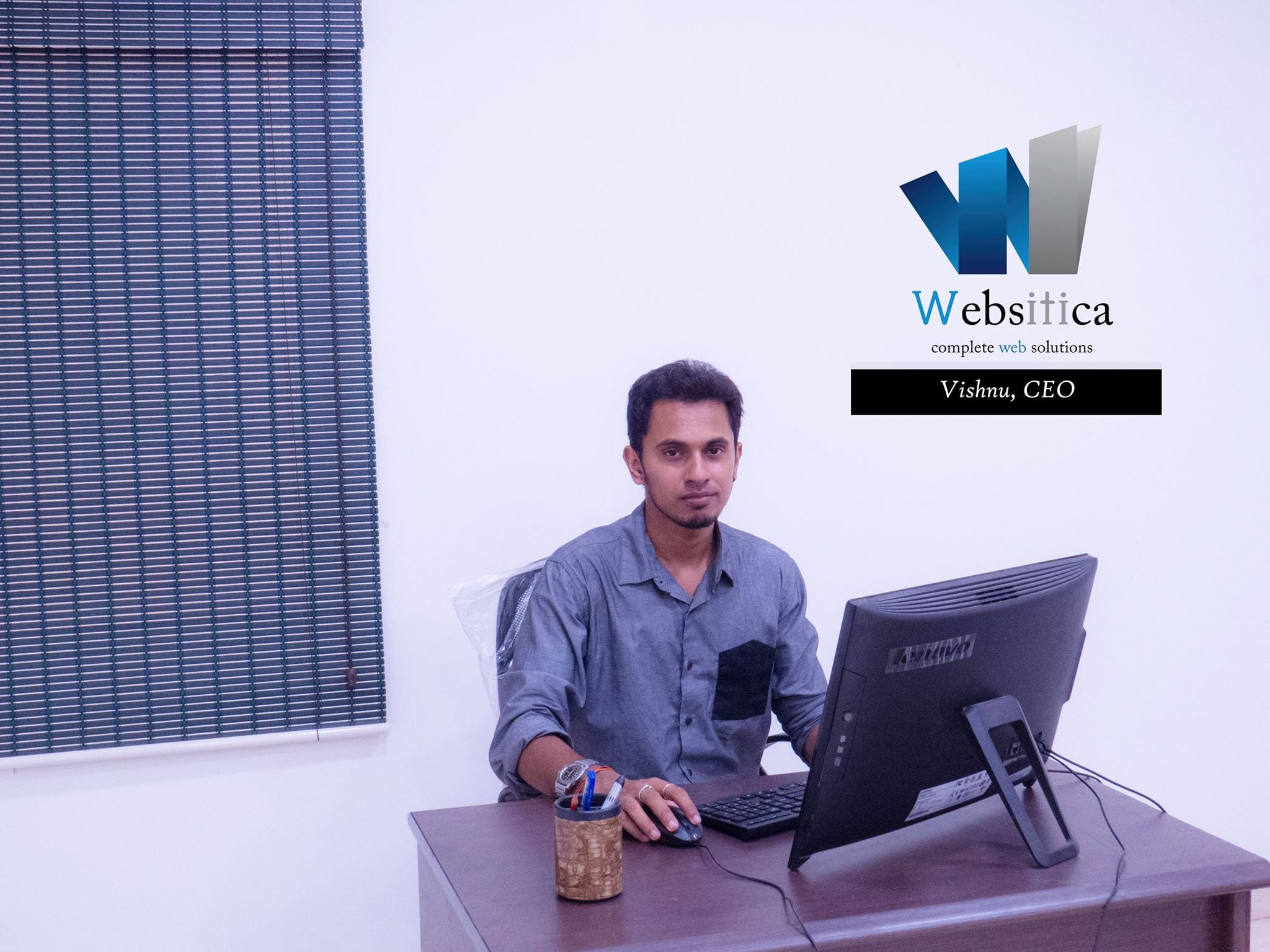 Vishnu CEO - Websitica