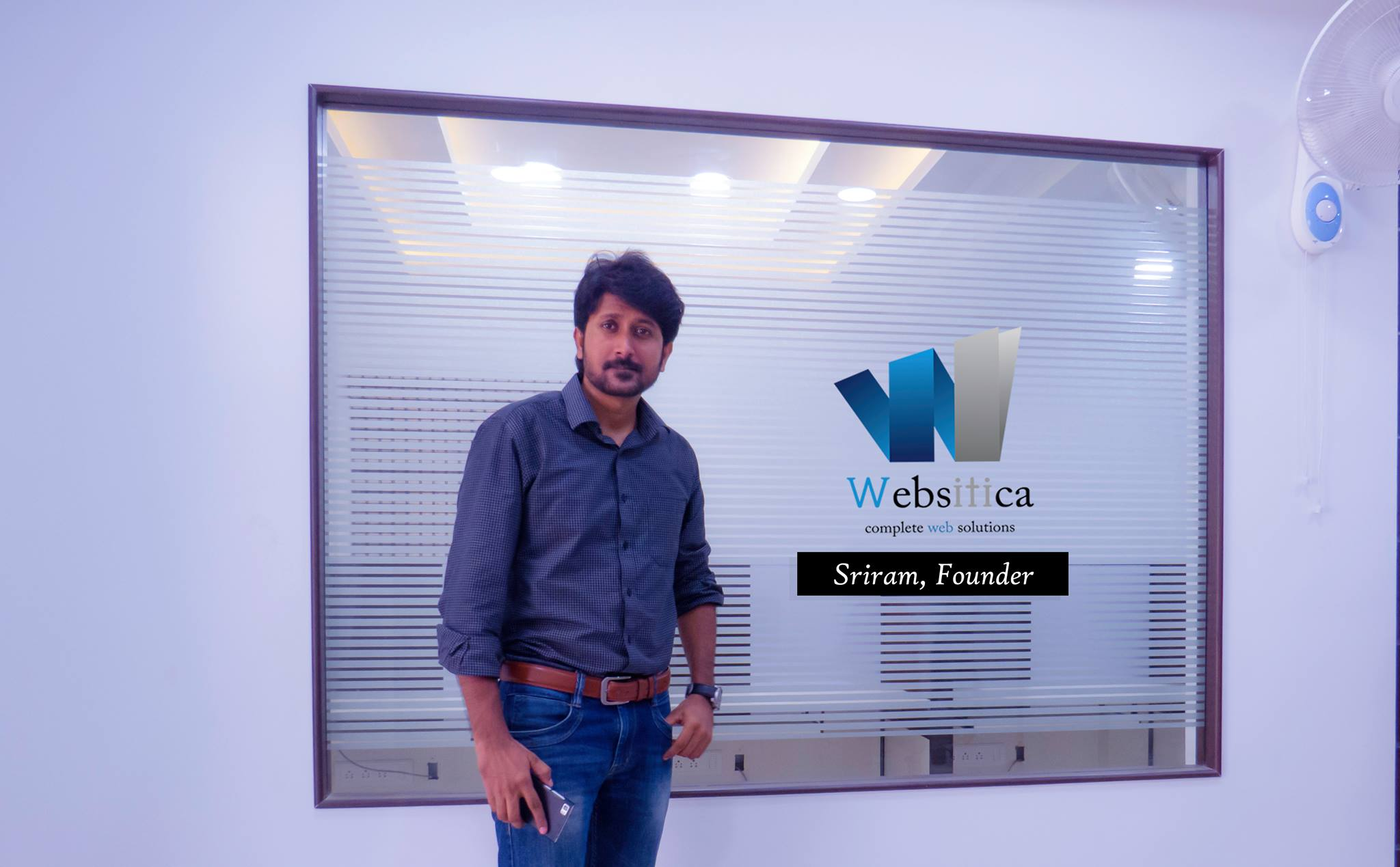 Sriram Founder - Websitica