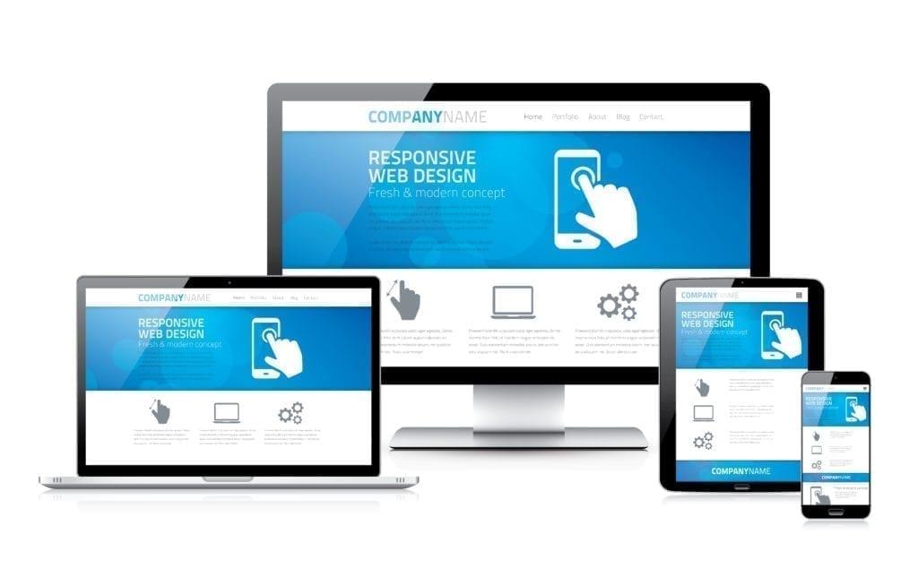 responsive design Webpage