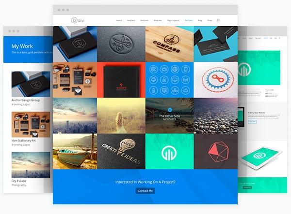 portfolio design Webpage