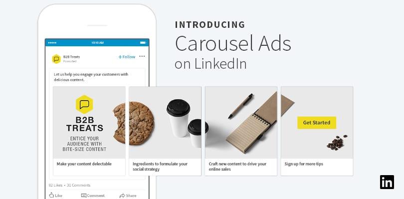 LinkedIn Carousel Ads