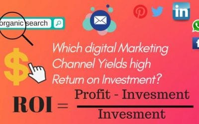 WHICH DIGITAL MARKETING CHANNEL YIELDS HIGH RETURN ON INVESTMENT?