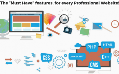 "The ""Must Have"" features, for every Professional Website!"