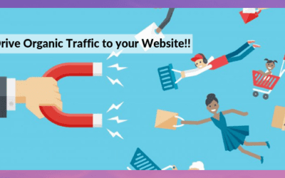 Things to do to drive organic traffic for your website, to list on the first page of Google.