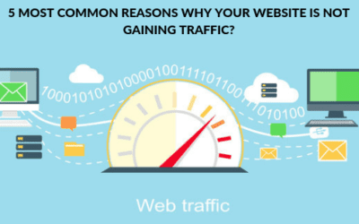 5 Most common reasons why your website is not gaining traffic?