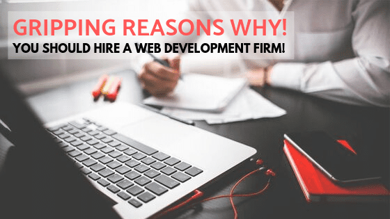 4 gripping reasons Why You should hire a Web development Firm