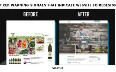 7 Red warning Signals That Indicate Website to Redesign