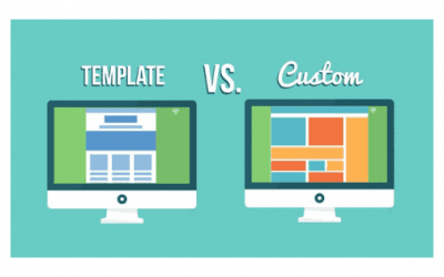 Custom Design vs Template Website – Which Would You rather Choose?