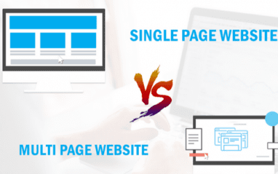 Choose the right Website design, Single Page or Multiple Page Website Design!