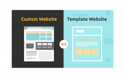 Which is easy to handle, Custom vs Template Website?
