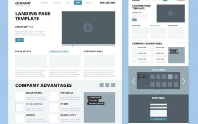How to frame a layout for your website's homepage!